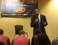 Rick Martin speaks at Rising Seniors
